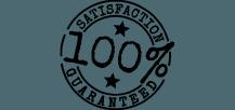 Satisfacción 100$% garantizada